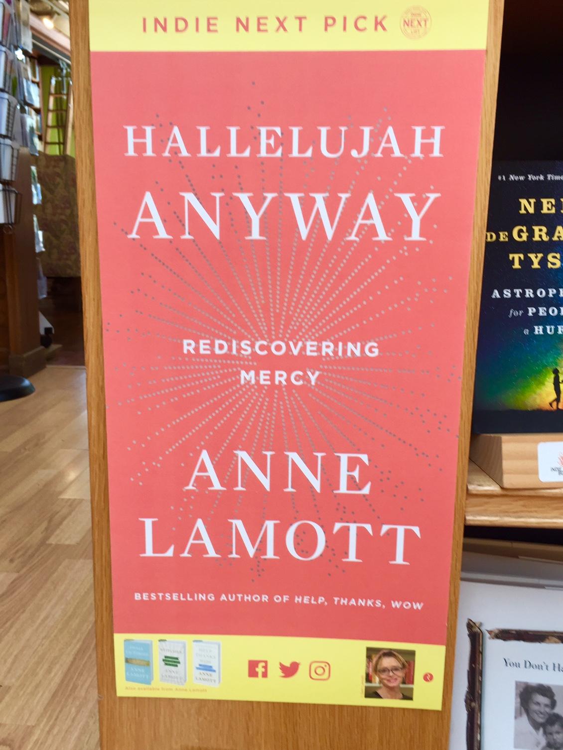 indie bookstore road trip Anne Lamott