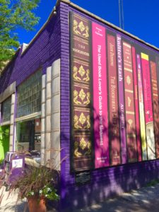 indie bookstore road trip Loganberry Books