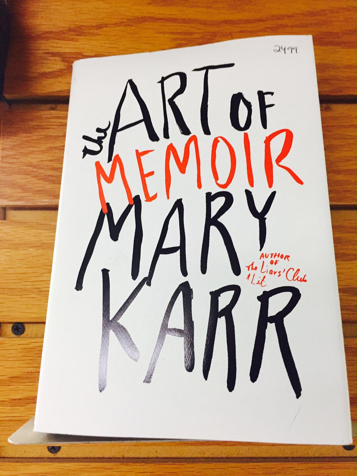 Mac's Backs Mary Karr